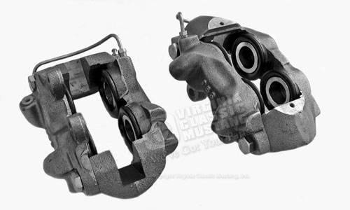65-67 NEW (NO EXCHANGE) DISC BRAKE CALIPERS PAIR