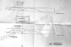 65-66 CONVERTIBLE CONSOLE CUTTING INSTRUCTIONS