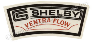 65-70 SHELBY ACCESS VENTRA-FLOW AIR CLEANER DECAL