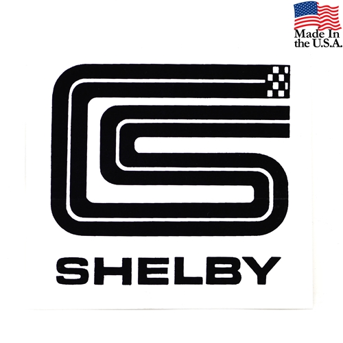 CS SHELBY DECAL