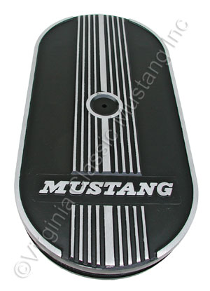 MUSTANG OVAL AIR CLEANER ASSEMBLY-SINGLE CARB