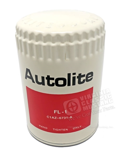 67-72 WHITE AUTOLITE OIL FILTER