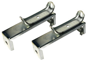 71-73 LOWER MOUNTING BRACKETS FOR RADIATOR PAIR
