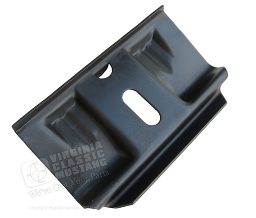 65-66 Mustang Short Battery Holddown Clamp - Exact Style with tab