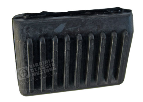 67-68 WINDSHIELD WASHER PEDAL PAD