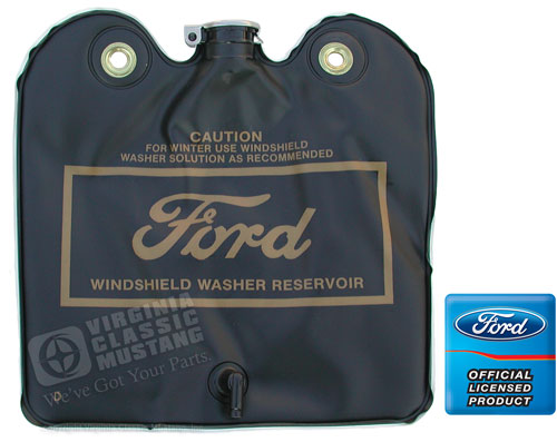 LATE 66-67 GOLD LETTERED WASHER BAG