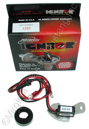 68-73 6 CYLINDER ELECTRONIC IGNITION KIT-ALL ALSO FITS 65-67 6 CYLINDER WITH SMOG PUMP