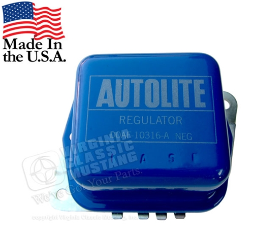 Voltage Regulator -70-71 Autolite Stamping DOAF
