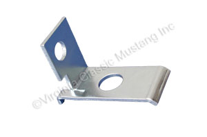 65-66 V8 2V ACCELERATOR RETRACTING SPRING BRACKET