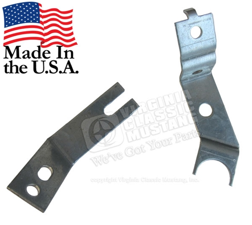 70 Mustang 351C Hood Scoop Shaker Bracket for Air Cleaner (2 pieces)