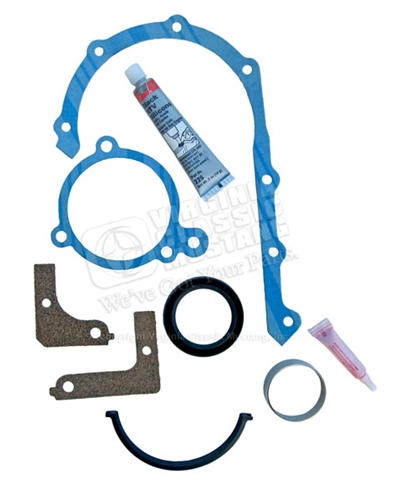 170,200 TIMING COVER GASKET/SEAL SET WITH CRANK REPAIR SLEEVE