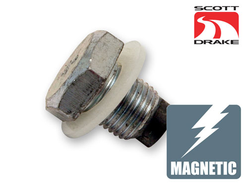 MAGNETIC OIL DRAIN PLUG WITH GASKET