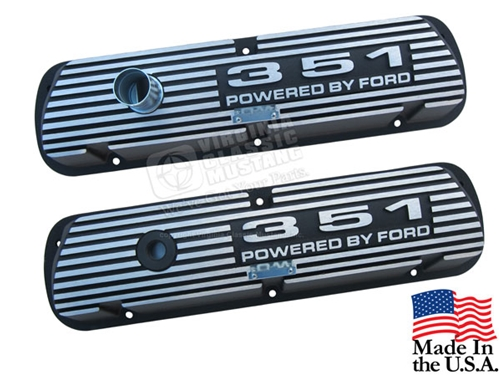351 Aluminum Valve Covers - Pair