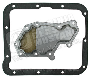 C4 AUTOMATIC TRANSMISSION PAN GASKET WITH FILTER FOR 70-73