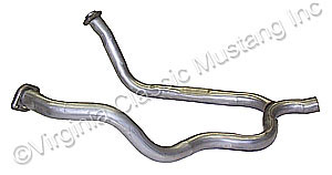 69-70 351W SINGLE EXHAUST Y-PIPE 2 1/4""