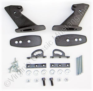 69-70 REAR SPOILER STANDS AND PADS ONLY-PAIR