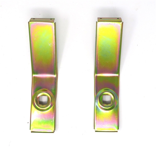 68 Fog Lamp Grill Brackets - Pair