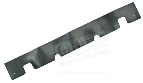 67-68 Rear Splash Shield at Rear Valance and Bumper