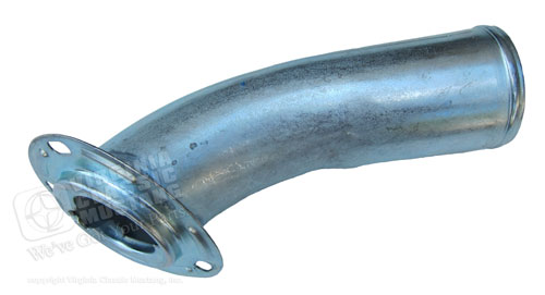67-68 FUEL FILLER STEEL PIPE / NECK FOR USE WITH 70 22 GALLON GAS TANK