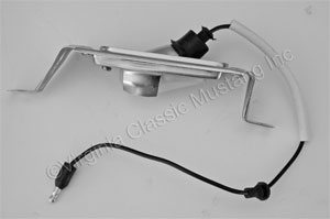 67-68 REAR LICENSE TAG LIGHT ASSEMBLY