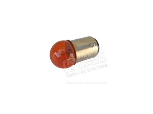 68 Mustang Amber Bulb for Side Marker Light Assembly
