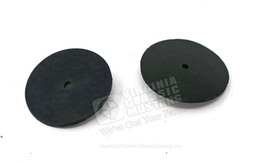 65-70 Front Bumper to Fender Bracket and Bumper Guard Mounting Pads - Set of 2