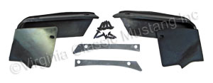 71-72 FRONT FENDER TO BUMPER FILLERS-PAIR