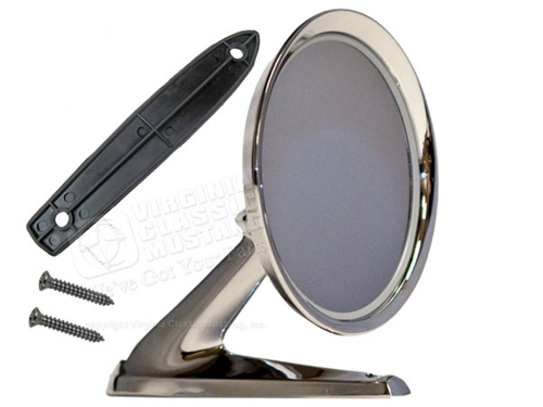 65-66 GOOD REPRODUCTION STANDARD OUTSIDE MIRROR