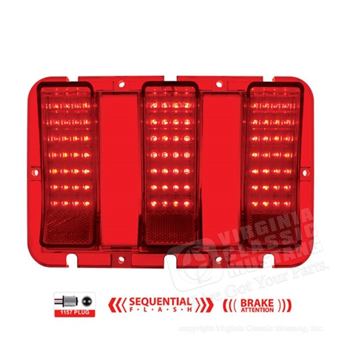 67 68 Mustang Led Sequential Tail Light