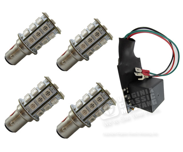 71-73 LED SEQUENTIAL TURN SIGNAL KIT