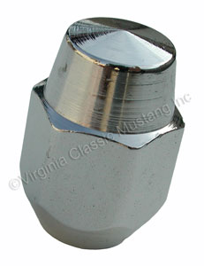 SHOW QUALITY EXACT POINTED TIP CHROME LUG NUT