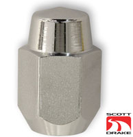 69-73 MAGNUM 500 CHROME LUG NUT CORRECT LONG STYLE