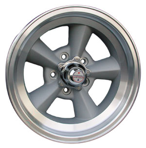 15 X 7 AMERICAN TORQ-THRUST TT WHEEL (STRAIGHT SPOKE) 5 LUG