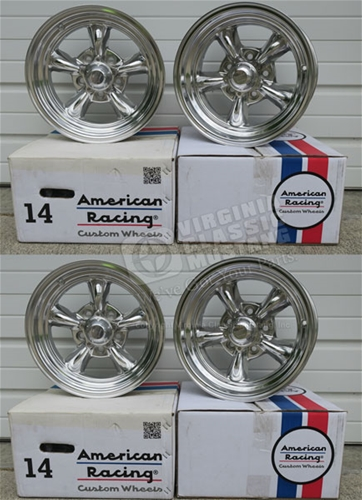 14 x 6 and 14 x 7 Torque Thrust II Wheel Set of 4