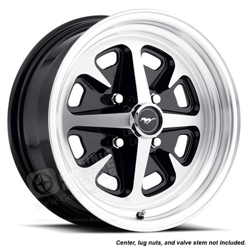 15 x 6 Magnum 400 Wheel - Cast Aluminum - 4 Lug for 6 Cylinder