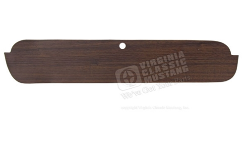 65-66 Woodgrain Glove Box Decal