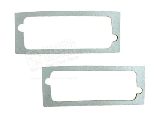 65-66 Mustang Door Light Gaskets - Pair