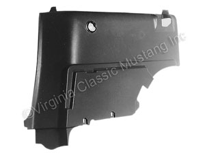 65-66 FASTBACK REAR INTERIOR TRIM PANELS-PAIR