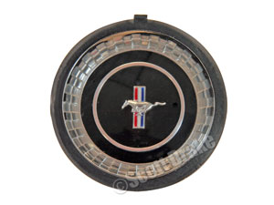 67 STEERING WHEEL CAP EMBLEM