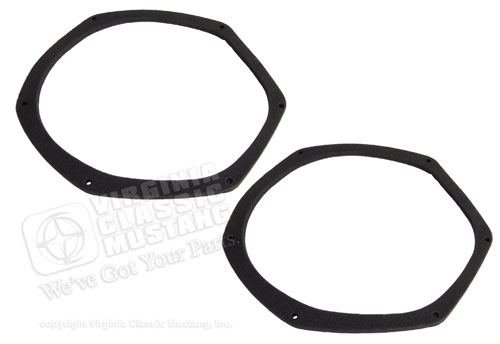 69-70 AIR VENT INLET GASKETS - PAIR
