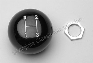 65-66 3 SPEED SHIFT KNOB