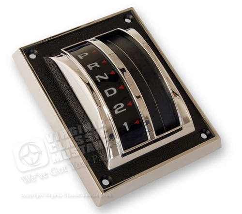 67-68 AUTOMATIC TRANSMISSION SHIFT COVER