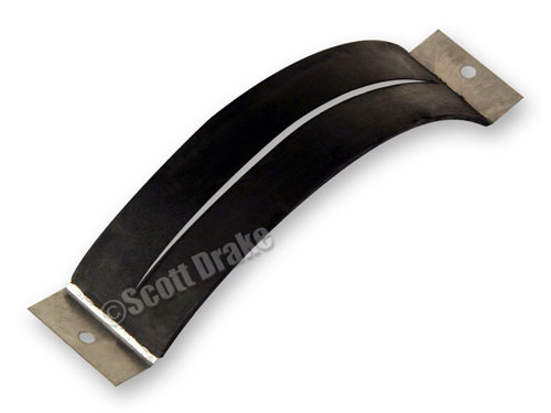 65-68 AUTOMATIC TRANSMISSION SELECTOR DIAL RUBBER SEAL- FOR USE WITHOUT CONSOLE