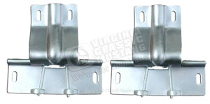65-66 FASTBACK REAR TRAP DOOR HINGES-PAIR