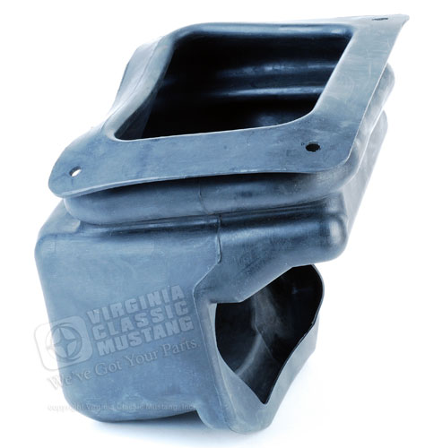 70 LOWER SHIFTER BOOT RUBBER-4 SPD. FOR CARS WITH FACTORY HURST SHIFTER