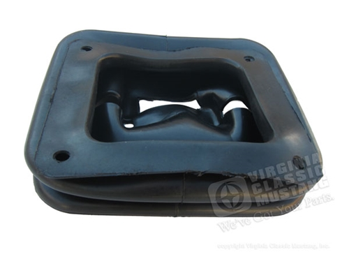 65-68  Mustang Lower Shifter Boot for 3 Speed