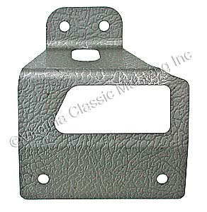 65-66 FASTBACK REAR SEAT LATCH COVER USE WITH BUMPER