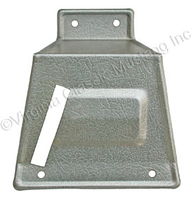 67-68 RH FASTBACK REAR SEAT LATCH COVER USE ON CAR WITH FIXED REAR SEAT