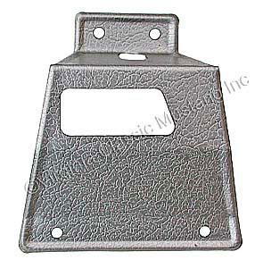 67-68 LH FASTBACK REAR SEAT LATCH COVER USE WITH FOLDDOWN REAR SEAT