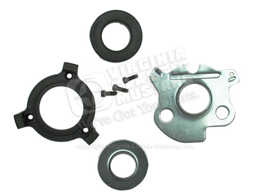 65-66 WITH ALTERNATOR HORN RING CONTACT KIT